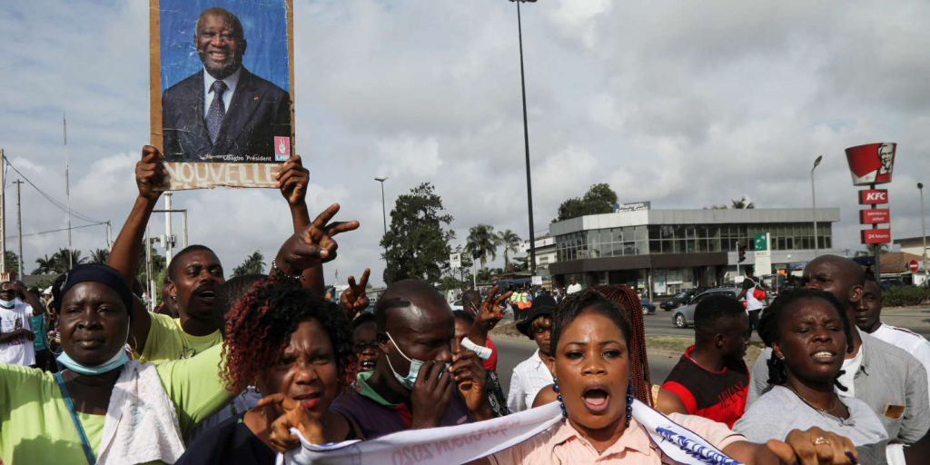 Supporters of Former President Laurent Gbagbo Gather Just as Excited on his Return as on 31 August 2020 - Photo Luc Gnago, Reuters