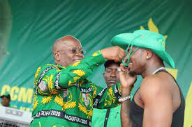 Magufuli Recognizing Platnumz at a Rally of the Ruling Party - Photo Routine Blast