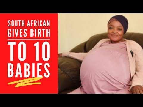 South Africa: South African Gives Birth to Decuplets