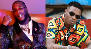 Wizkid (R) and Burna Boy - Photo Montage Channels Television