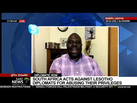 South Africa-Lesotho: Diplomats Asked to Leave