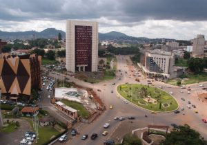 A View of Downtown Yaounde, Capital of the Bottomless Pit - Photo Jubilee Debt Campaign