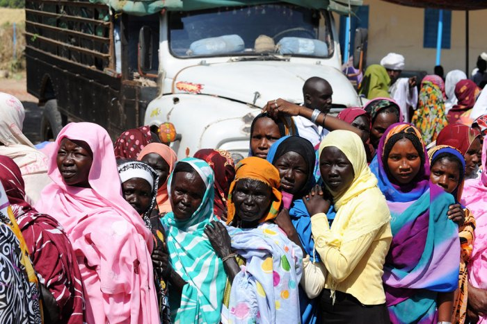 Civilians in South Sudan especially Women and Children Badly Hit by Relapses into Civil War - Photo ReliefWeb
