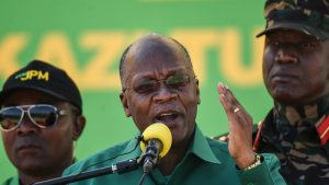Tanzania's Former President John Magufuli who Died Office in March 2021 - Photo Ericky Boniphace, AFP