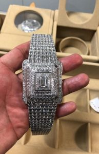 One of Obiang Mangue's Ill-Gotten Jeweled Watches Worth $12 Million - Photo Los Angeles Sentinel