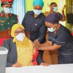 Tanzanian President gets her COVID-19 Vaccine