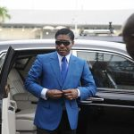 Teodorin Nguema, Vice-President and Son of His Father, President Nguema Mbazogo - Photo AFP