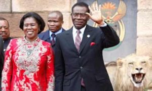 Teodoro Obiang Nguema Mbazogo in Power for Over 40 Years - Photo The Guardian